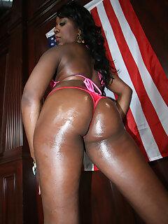 Black Stripper Pics