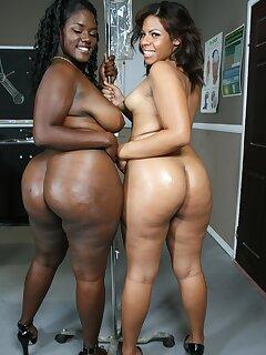 Black Oiled Girls Pics